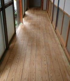 木床 研磨洗浄工事