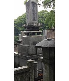 墓地 墓石洗浄工事