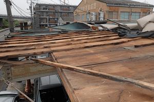 住宅家屋の解体