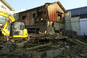 鉄骨造・RC造(鉄筋コンクリート)・木造の建物解体