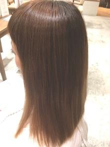 【NEW縮毛矯正】アイロンを使わないサラツヤ縮毛矯正