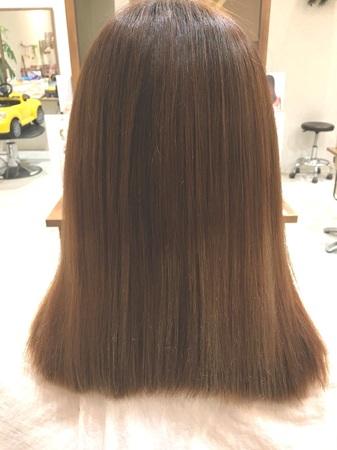 【NEW縮毛矯正】アイロンを使わないサラツヤ縮毛矯正2