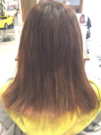 【NEW縮毛矯正】アイロンを使わないサラツヤ縮毛矯正3