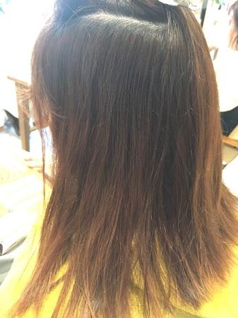 【NEW縮毛矯正】アイロンを使わないサラツヤ縮毛矯正4