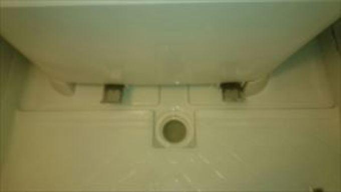 浴室のエプロン内部 作業後