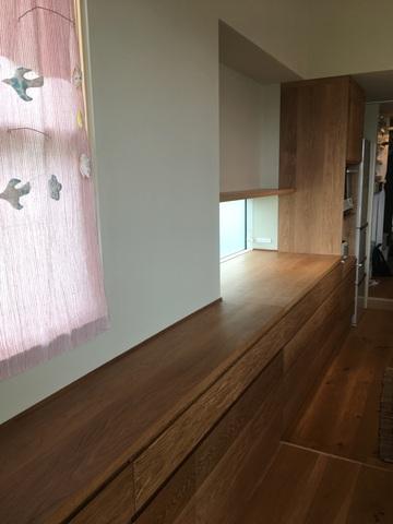 奈良市 F様邸 キッチンボード ダイニングセット(販売店:イオンタウン富雄南店)