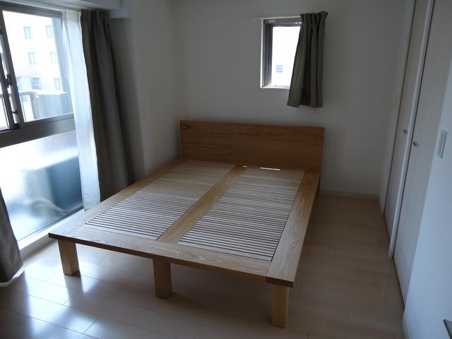 ベッドの納品例