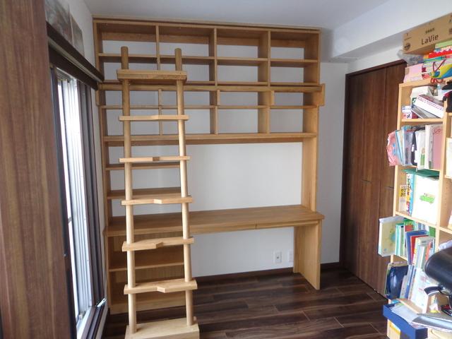 壁面収納、ガリレオの書棚