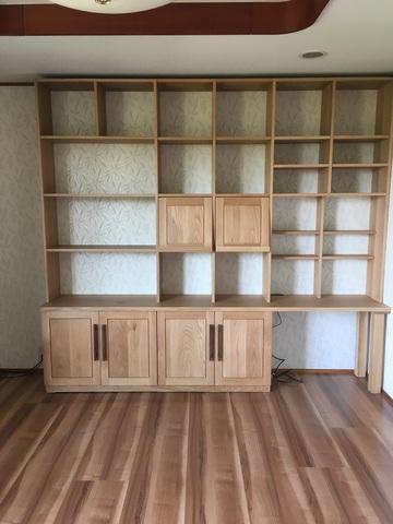 名張市T様邸 壁面収納棚(販売店:奈良本店)