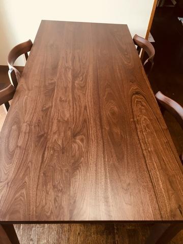 奈良市 Y様邸 森の時間ダイニングテーブル