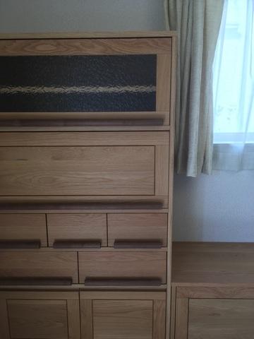 奈良市U様邸テレビボード、収納ボード(販売店:イオンタウン富雄南店)