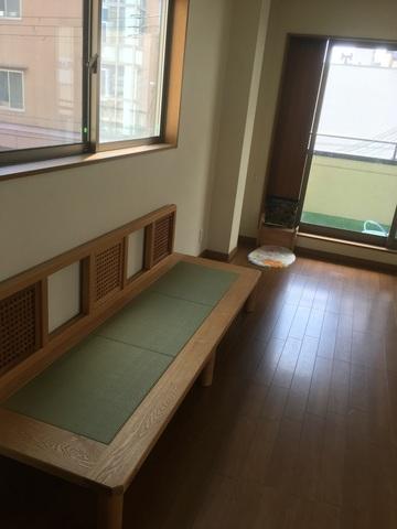 大阪市U様邸 たたみソファー(販売店:HDC神戸店)