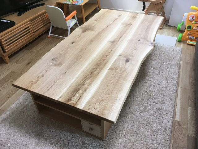 加古川市O様邸 森の記憶テーブル(販売店:HDC神戸店)