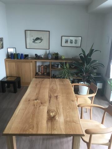 神戸市 S様邸 森の記憶ダイニングテーブル(販売店:HDC神戸店)