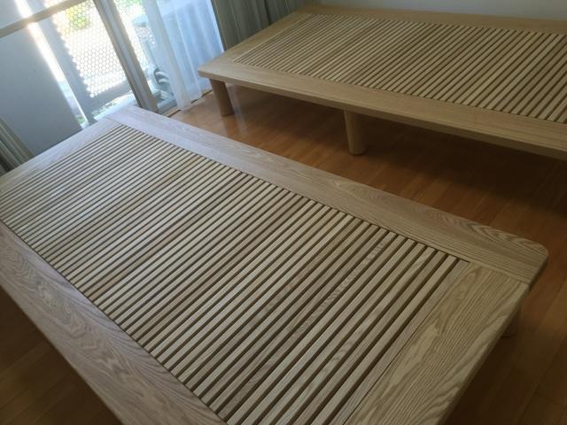 神戸市灘区 T様邸 手創りベッド(販売店:HDC神戸店)