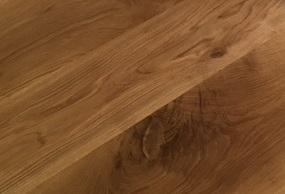 ナラ材の木目 環孔材