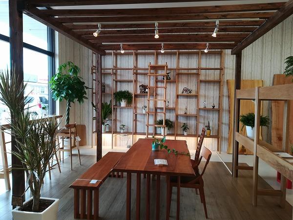 奈良無垢材家具 一枚板テーブル