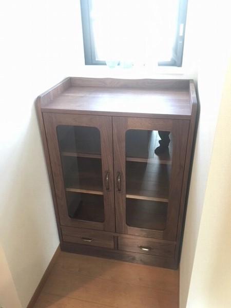ブラックウォールナット 無垢 オーダー家具