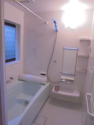 おそうじ楽々、暖かい浴室へ