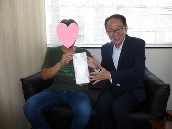 婚活の活動わずか4カ月!!守口市の44歳男性会員様 令和元年ご成婚おめでとうございます!