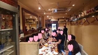 関西ブライダル守口店主催の大阪心斎橋で魔法のレストランで紹介されたイタリアンでランチ会を開催致しました。(^^♪