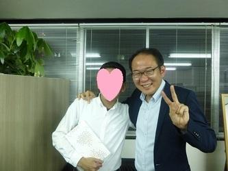 大阪市の32歳の男性会員様、ご成婚