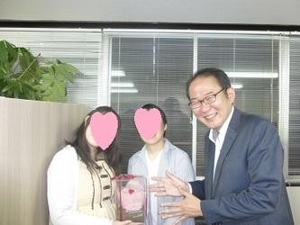 大阪府の在住34歳女性会員様、ご成婚おめでとうございます!