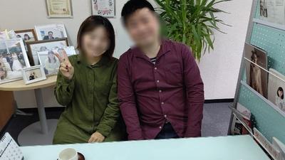 大阪市34歳の女性会員様 ご成婚おめでとうございます!