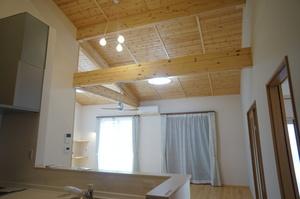 空気断熱+外断熱のW断熱で森林浴のできる平屋2