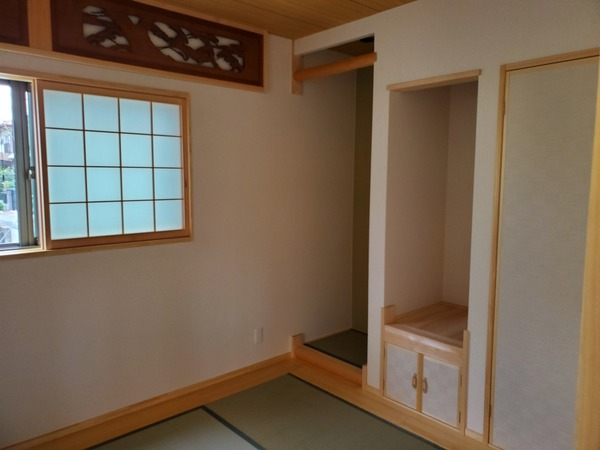 空気断熱+外断熱のW断熱で森林浴のできる平屋4