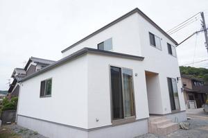 自然素材をふんだんに使った空気のキレイな家1