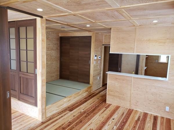 自然素材をふんだんに使った空気のキレイな家2