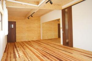 自然素材をふんだんに使った空気のキレイな家4
