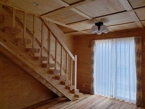 自然素材をふんだんに使った空気のキレイな家8