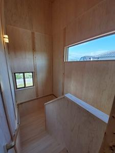 料亭のような玄関アプローチの家8