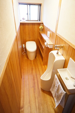 長居したくなるトイレ施工後
