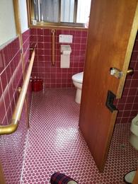 温かみのあるトイレになりました施工前