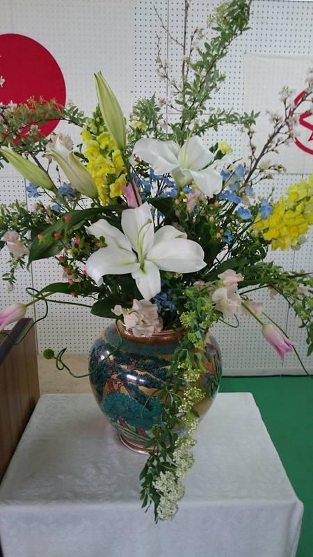 壇上花 / 生花