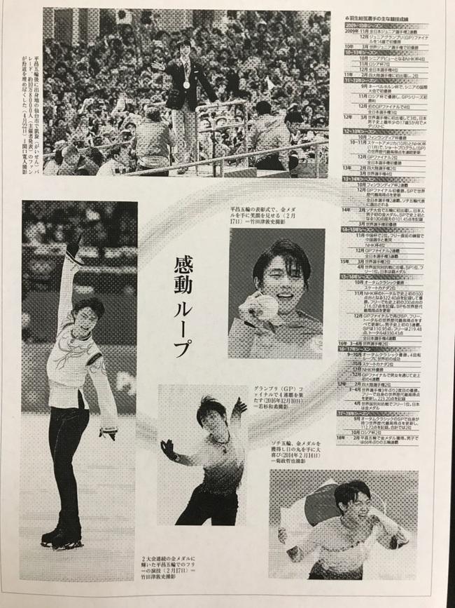 フィギア 羽生選手 国民栄誉賞