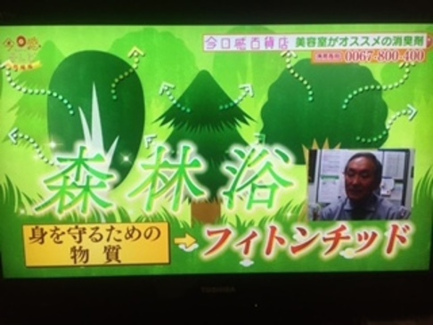 TBS系列・RKB毎日放送の人気番組 「今日感テレビ」でフィトンチッド商品が 紹介されました!1