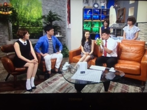 TBS系列・RKB毎日放送の人気番組 「今日感テレビ」でフィトンチッド商品が 紹介されました!3