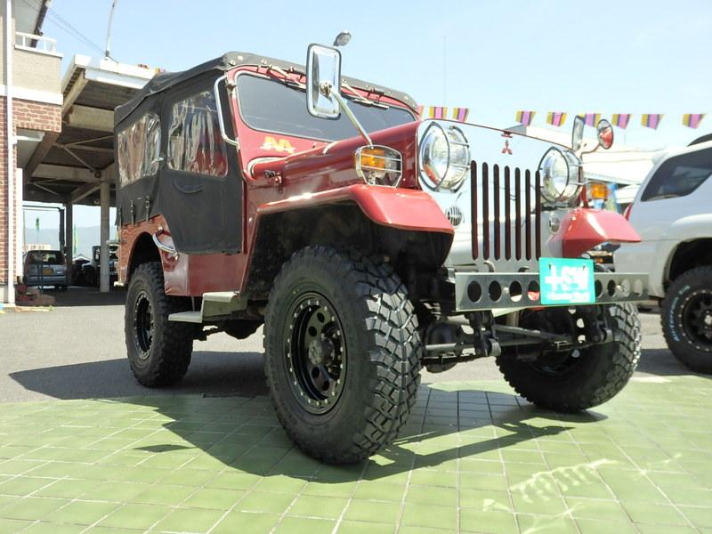 H1 Jeep J-53  あずき色