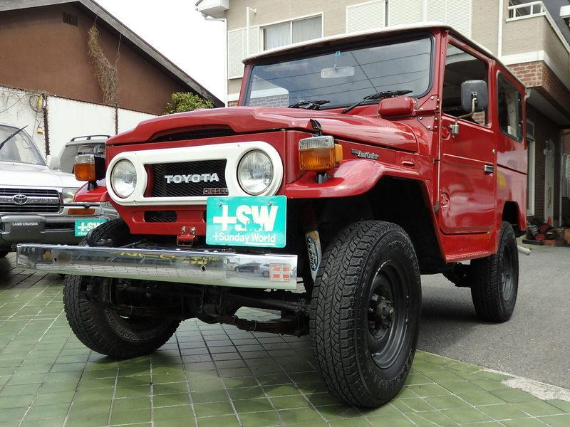 S55 ランクル40(BJ41)赤