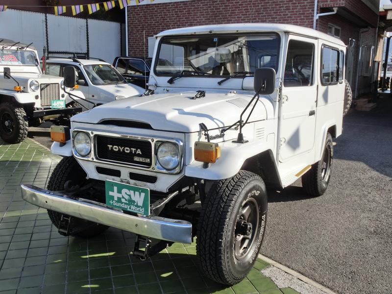 S59 ランクル40(BJ46)白