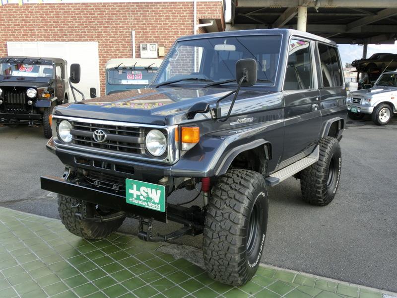 ランクル70LXショート 4200cc ガンメタリック