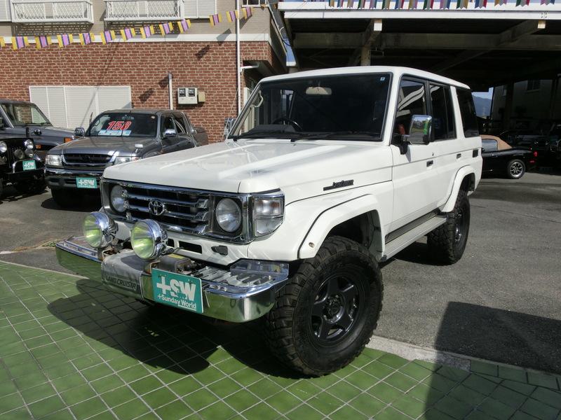 H3 ランクル70ZXロング白 4200cc 5速