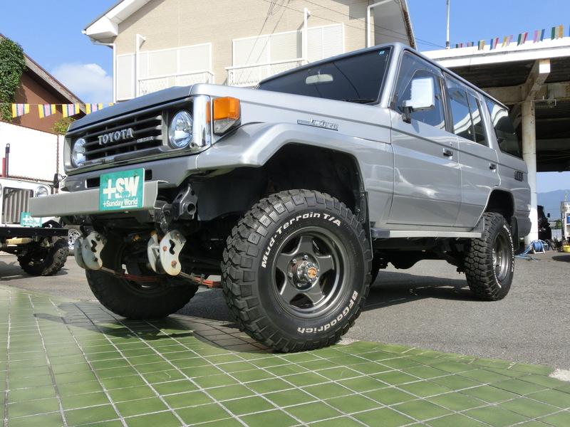 H3 ランクル70LXロング グレー 3500cc 5速