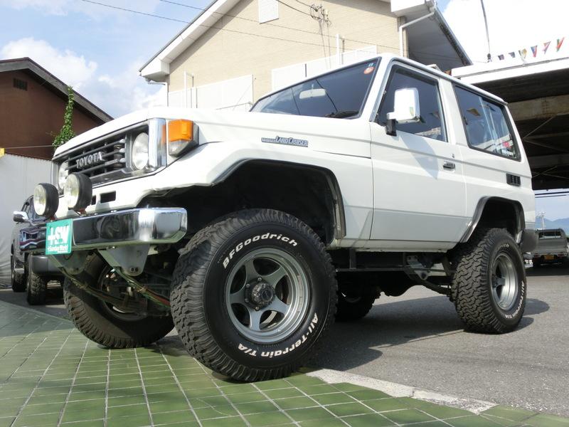 H4 ランクル70LXショート 白 3500cc 5速