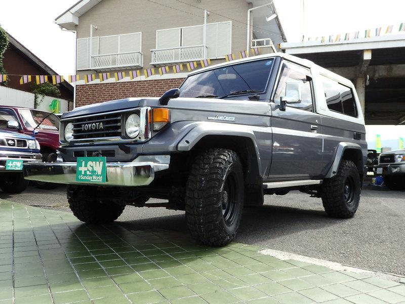 H9 ランクル70FRPトップ ZX グレー