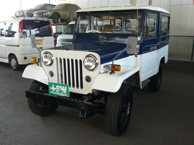 S56 Jeep J-24 青/白